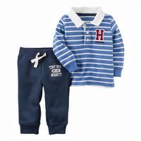 Carter's 2PC Rugby Polo And Jogger Set