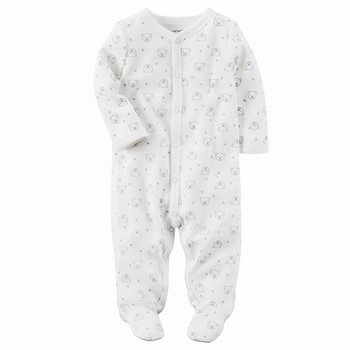 Carter's Bear Snap-Up Thermal Sleep & Play One Piece