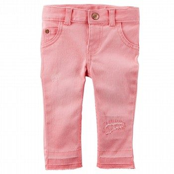 Carter's Stretchy Pink Denim
