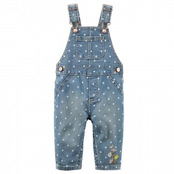 Carter's Embroidered Overalls