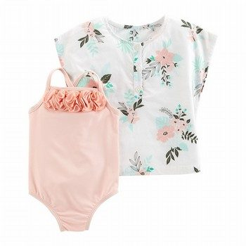 Carter's Carter's's 2PC Swimsuit & Cover-Up Set