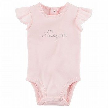Carter's Tulle-Sleeve Collectible Bodysuit