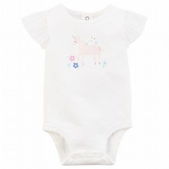 Carter's Unicorn Tulle-Sleeve Collectible Bodysuit