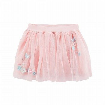 Carter's Embroidered Tulle Tutu Skirt
