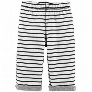 Carter's Striped Reversible Pull-On Pants
