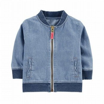 Carter's Chambray Bomber Jacket