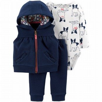 Carter's 3PC Little Vest Set