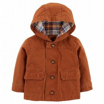 Carter's Button-Front Canvas Jacket