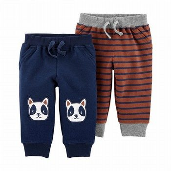 Carter's 2PK Pull-On French Terry Pants