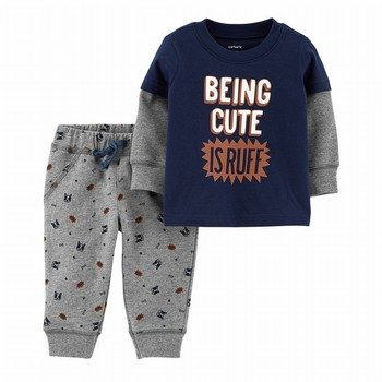 Carter's 2PC Pullover & Pant Set
