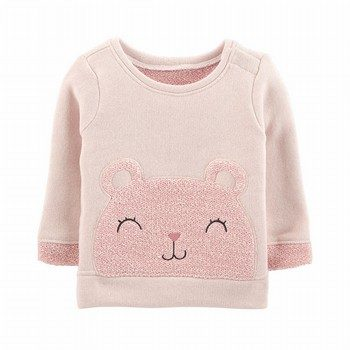 Carter's Bear French Terry Sweater