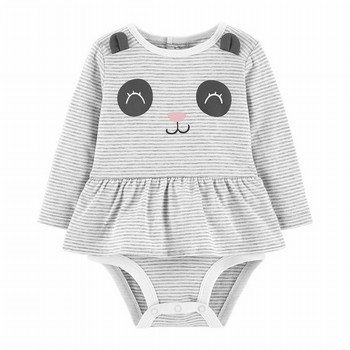 Carter's Raccoon Double-Decker Bodysuit