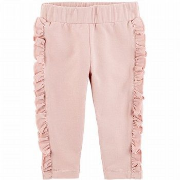 Carter's Ruffle French Terry Pants