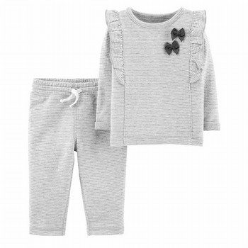 Carter's 2PC Bow Top & Pant Set