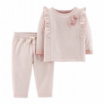 Carter's 2PC Polka Dot Top & Pant Set