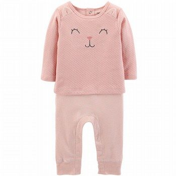 Carter's Kitty Coveralls