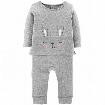 Carter's Carter's Bunny Coveralls