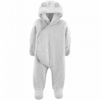 Carter's Quilted Heather Hooded Bunting