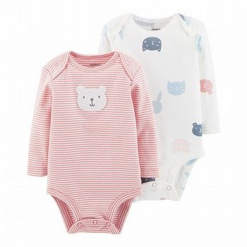 Carter's 2PK Bear Bodysuits