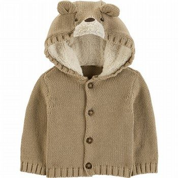Carter's Bear Cardigan