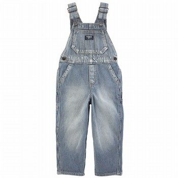 OshKosh B'gosh Hickory Striped Overalls