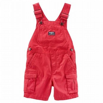OshKosh Canvas Shortalls
