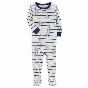 Carter's Snug Fit Cotton Footed One Piece PJs