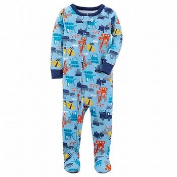 Carter's Snug Fit Construction Footed Cotton PJs