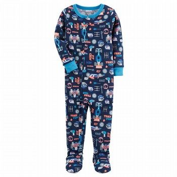 Carter's Snug Fit Footed Cotton One Piece PJs