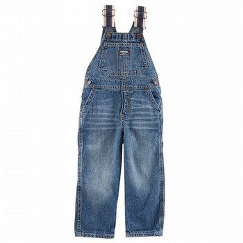 OshKosh Denim Overalls - Bright Ocean Wash
