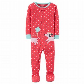 Carter's Snug Fit Dog Footed Cotton PJs