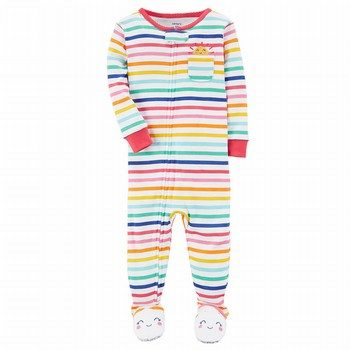 Carter's Snug-Fit Cotton Onepiece Footed PJs