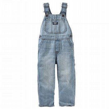 OshKosh Denim Overalls - Sun Faded Light Wash
