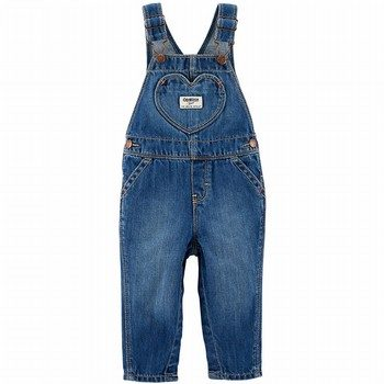 OshKosh B'gosh Heart Overalls - Gemma Wash