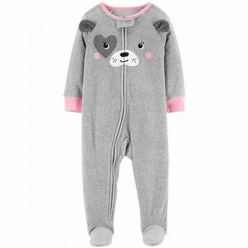 6d272adeeaa5 Carter s Snug Fit Fleece Onepiece Footed PJs