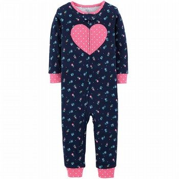 Carter's Snug-Fit Cotton Onepiece Footless PJs