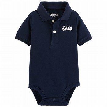 OshKosh B'gosh Logo Polo Bodysuit