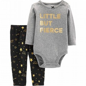 Carter's 2PC Fierce Bodysuit & Pant Set