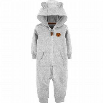 Carter's Hooded Bear Jumpsuit