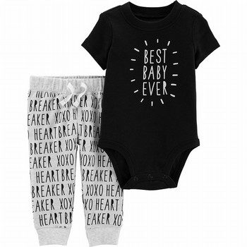Carter's 2PC Best Baby Bodysuit & Pant Set