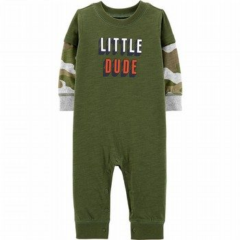 Carter's Little Dude Layered-Look Jumpsuit