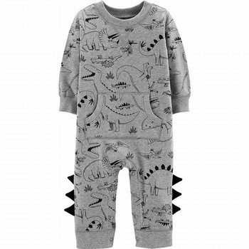 Carter's Dinosaur Cotton Jumpsuit