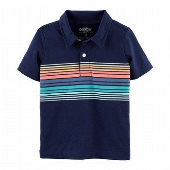 OshKosh B'gosh Striped Jersey Polo