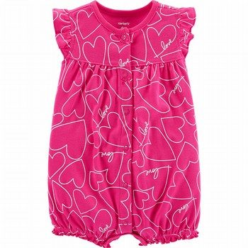Carter's Heart Snap-Up Romper