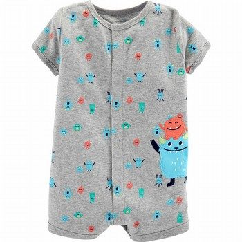 Carter's Monster Snap-Up Romper