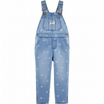 OshKosh Denim Overalls - Sea Mist Wash