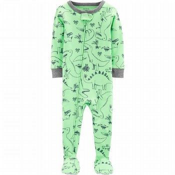 Carter's Snug Fit Cotton Onepiece Footie PJs