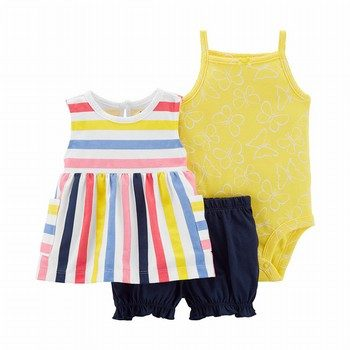 Carter's 3PC Little Bubble Short Set