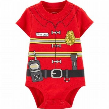 Carter's Fireman Costume Collectible Bodysuit