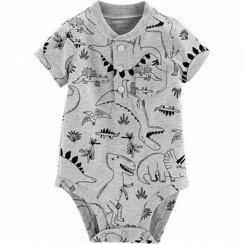 Carter's Dinosaur Henley Collectible Bodysuit